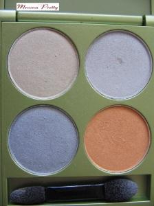 quattro alverde 40 sunny jewels - pérola, cinza e laranja